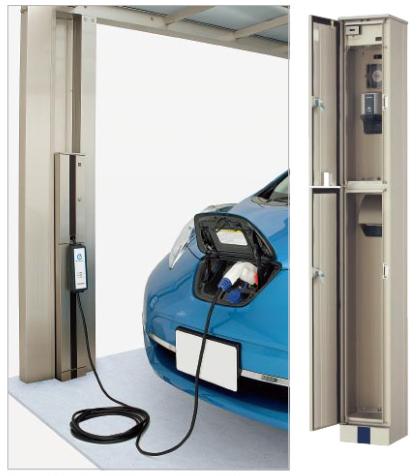 電気自動車・PHV対応EVスタンド